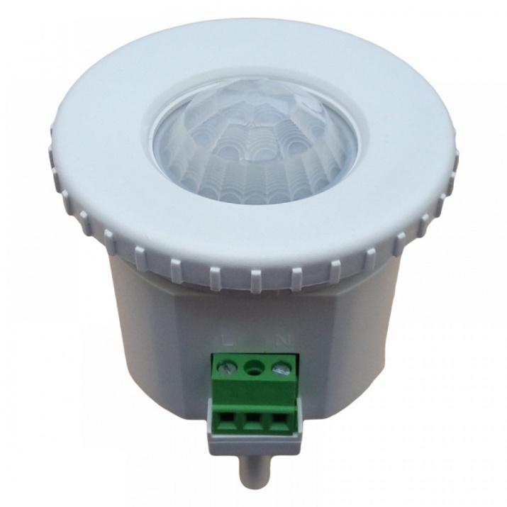 Αισθητήρας Κίνησης Λευκός 360° για πλαφονιέρα έως 6 Μέτρα