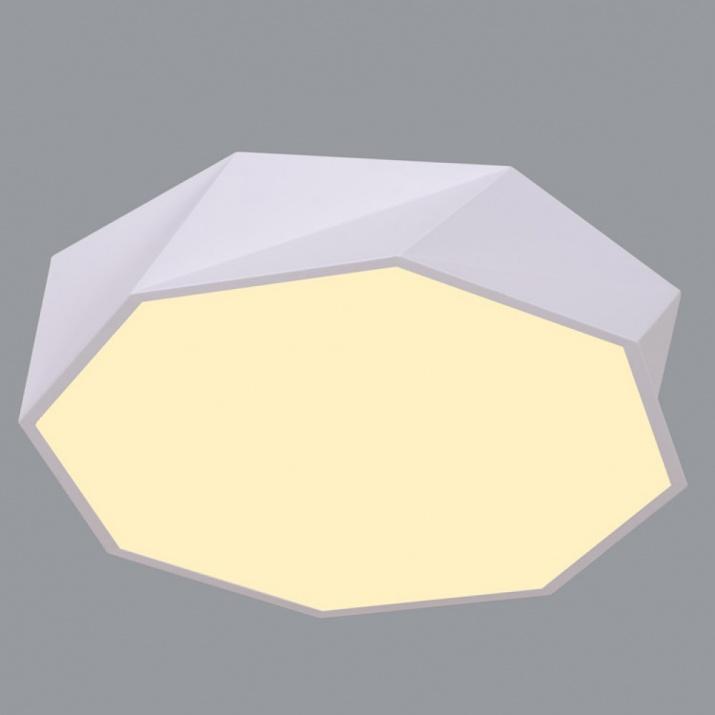 LED Φωτιστικό 30W 4000Κ Ø410mm Πολυγωνικό