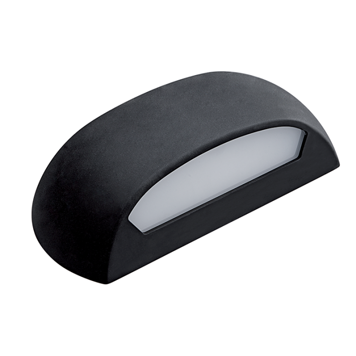 LED Φωτιστικό 12W 4000Κ IP65 Μαύρο