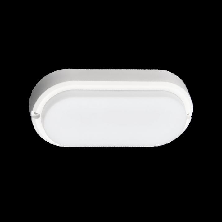 LED Φωτιστικό 15W 4000Κ IP54  Οβάλ