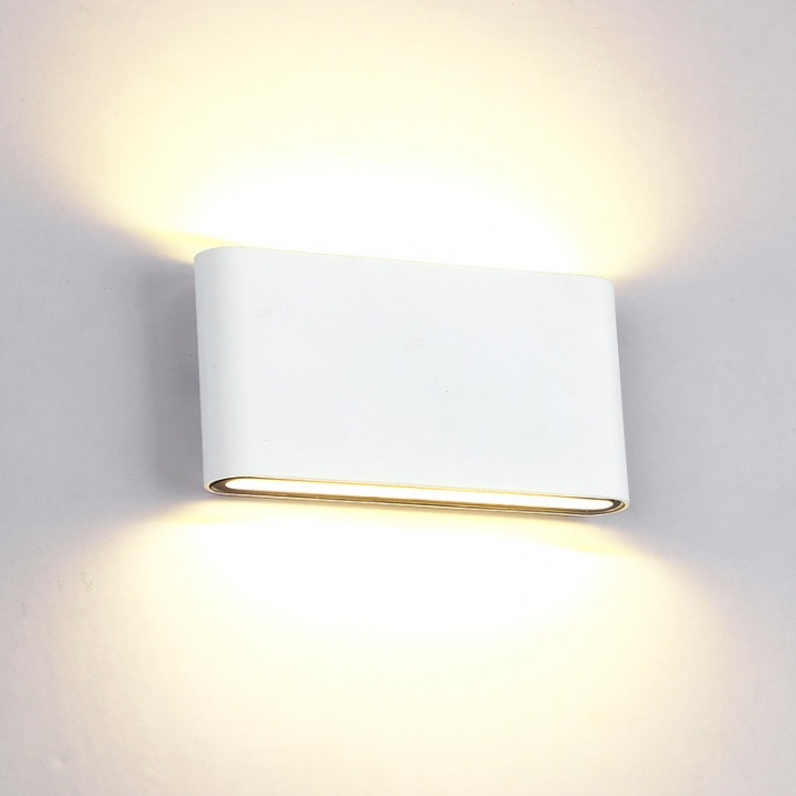 LED Φωτιστικό 12W 4000Κ IP65 Λευκό Ορθογώνιο