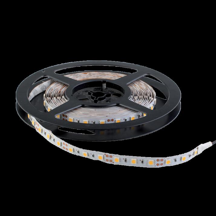 Ταινία LED 14.4 watt 60 smd 5050 Led Ψυχρό Λευκό 5 Μέτρα IP20