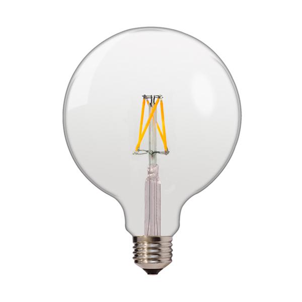 Λαμπτήρας Filament G125 Ε27 6,5 Watt Λευκό Ημέρας