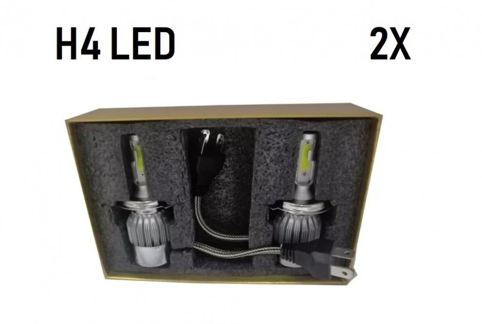 LED Kit C6, H4 3800LM ανά λάμπα, 36W