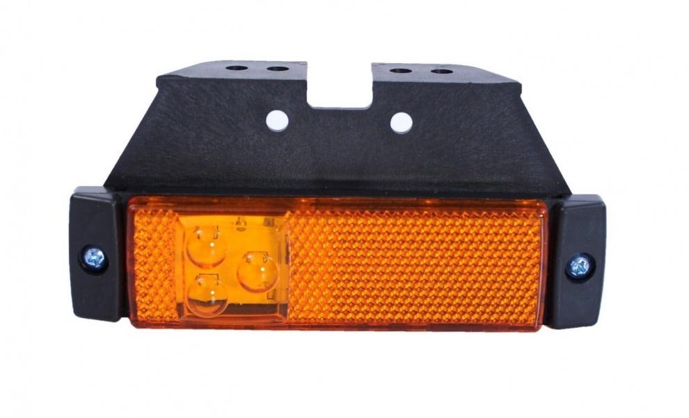 LED Φωτιστικό Πλευρικής Σήμανσης με Βάση 12V / 24V