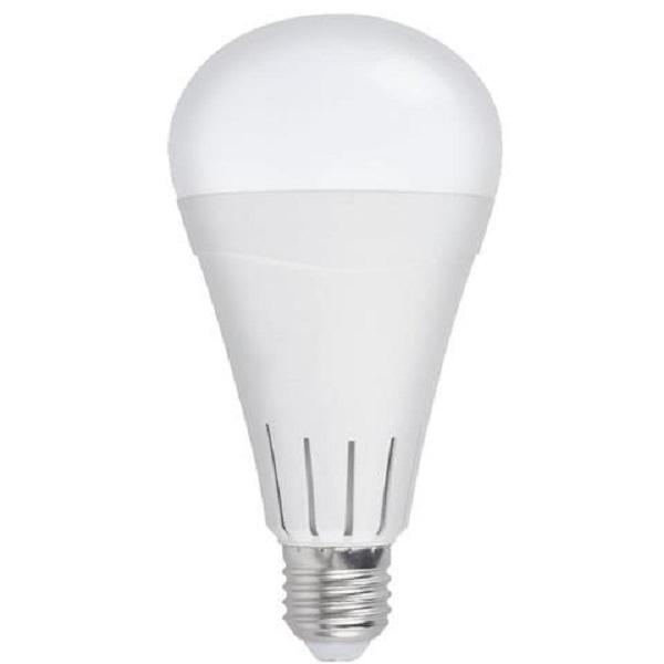 Λάμπα Ασφαλείας LED με Επαναφορτιζόμενη Μπαταρία 12W Ψύχρό Λευκό
