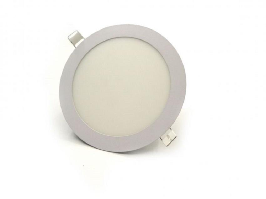 Φωτιστικό Πάνελ Οροφής Χωνευτό 12 Watt 240 Volt Ψυχρό Λευκό