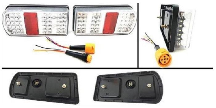 LED Φανοί Οπίσθιοι 12V / 24V  Φρένων - Φλας - Θέσης - Όπισθεν - Ομίχλης