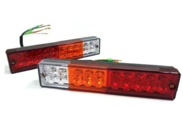 Σετ LED Φανοί Οπίσθιοι 12V / 24V  Φρένων - Φλας - Θέσης - Όπισθεν