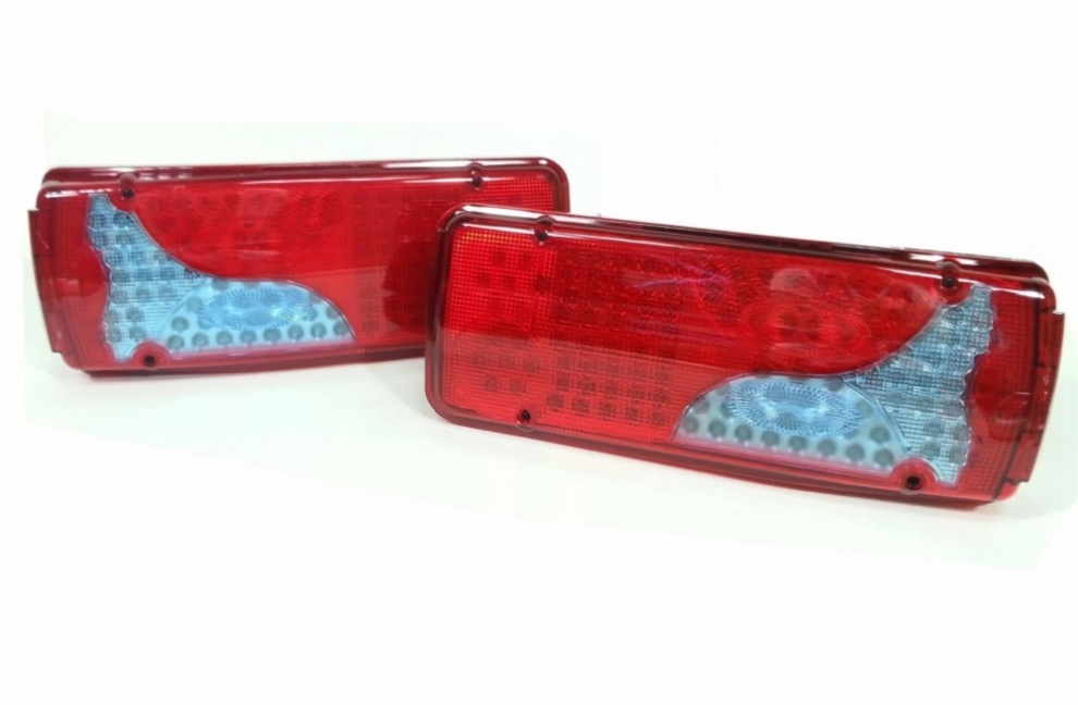 Σετ LED Φανάρι Φορτηγού Πίσω 12V Φρένων - Φλας - Όπισθεν - Πορείας - Ομίχλης MAN