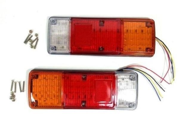 Σετ LED Φανάρι Φορτηγού Πίσω 12V / 24V  Φρένων - Φλας - Όπισθεν - Πορείας DM