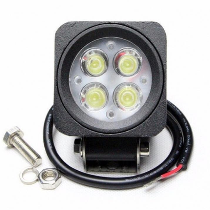 Προβολέας Cree LED Work 12 Watt 10-30 Volt Ψυχρό Λευκό