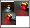 Σέτ LED Όγκου Ωμέγα Τριπλά Κερατάκια 24V IP66 Κόκκινό / Λευκό / Κίτρινο