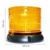 LED Φάρος Πορτοκαλί 12V Με Μαγνήτη lighthouse