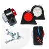 Σέτ LED Όγκου Ωμέγα Κερατάκια 24V IP66 Κόκκινό / Λευκό