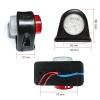 Σέτ LED Όγκου Ωμέγα Κερατάκια 12V IP66 Κόκκινό / Λευκό