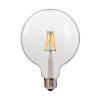 Λαμπτήρας Filament G125 Ε27 6,5 Watt Θερμό Λευκό