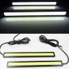 SET Φώτα Ημέρας DRL 12 Watt Cob Light 12V