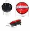 LED Φανόι Οπίσθιοι 12V Φρένων - Φλας - Θέσης - Όπισθεν
