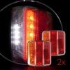 Σετ LED Φανάρι Φορτηγού Πίσω 12V / 24V Φρένων - Φλας - Όπισθεν - Πορείας DF