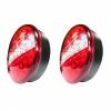 LED Φανόι Οπίσθιοι 12V / 24V Φρένων - Φλας - Θέσης Λεύκο