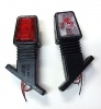 Όγκου Κερατάκια Με Λαμπτήρα 12V/24V  IP66 Κόκκινό / Λευκό