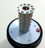 LED Φάρος Πορτοκαλί Διάφανος 12V / 24V Με Βίδα