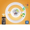 LED Μουσικός Λαμπτήρας Ε27 με Bluetooth 20W 4000k Φ260