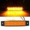 LED Όγκου 24V IP66 Πορτοκαλί