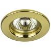Βάση Σποτ Χάλυβα Σταθερή Χρυσό MR16 / GU10 Φ60mm